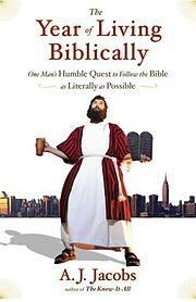 The Year of Living Biblically Book Cover